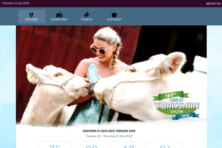 Great Yorkshire Show: Supporting Ripon Farm Services