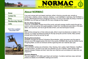 Normac Cultivations Demonstration: Supporting Thurlow Nunn Standen